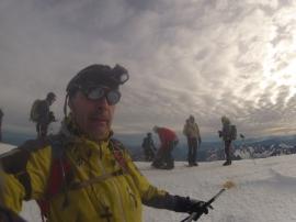 Christophe à 4 810 m